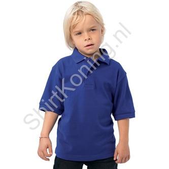 Kindermodel 100% katoenen polo (B&C Safran) - b&c safran kids
