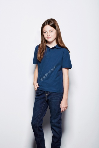 Kindermodel 100% katoenen polo (STE3200) - stedman 3200